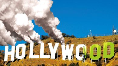 Photo of Vegan food, recycled tuxedos – and billions of tonnes of CO2: can Hollywood ever go green?